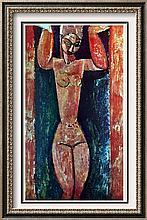 Amedeo Modigliani Caryatid c.1912 Fine Art Print