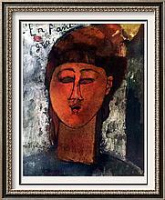 Amedeo Modigliani Fat Boy c.1915 Fine Art Print Signed in Plate