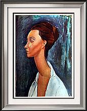 Amedeo Modigliani Lunia Czechowska c.1919 Fine Art Print Signed in Plate