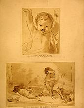 Studio Per un Putto and Cefalo Piangendo la Morte