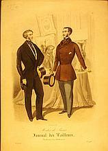 Modes de Paris, Journal des Tailleurs, 2 Men with