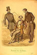 Modes de Paris, Journal des Tailleurs, 3 Men, One