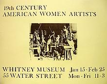 19th Century American Women Artists (Poster)