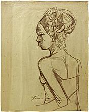 Portrait of a Balinese Woman
