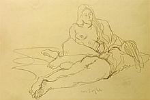 Two Reposing Nudes