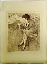 Seated Female- Artist's Proof