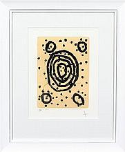 MRS BENNETT (NYURHPAYIA NAMPITJINPA)  Limited edition etching