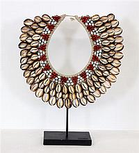 Asmat tribal neck piece