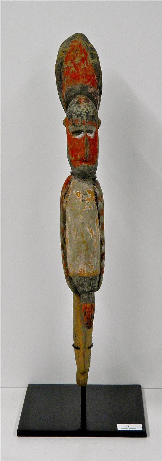 AN OLD MAPRIK YAM MARKER FROM NEW GUINEA