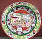 A Mason's china plate
