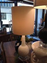 Carved Bulb Lamp-white