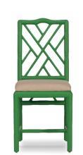 Brighton Bamboo Side Chair Green Mult/2