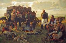 Giving Thanks for Fair Weather, Sweet Grass and a Hot Supper by Michael Dudash