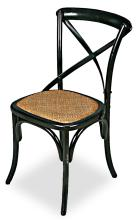 Tuileries Gardens Chair Black Mlt/2