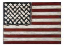 American Flag Metal Wall Art