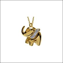 Ellie The Elephant Waggles Necklace