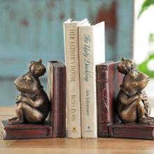 Rajah Frog Bookends