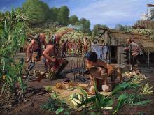 John Buxton - August 8 1780: Engaging The Shawnee Village