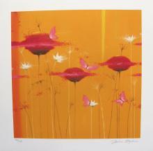 Julia Ogden Orange Blossoms Hand Signed Limited Edition Giclee