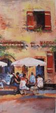 James Pratt L?auberge Du Marro Hand Signed Limited Edition Giclee On Canvas