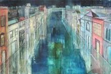 Alex Zwarenstein - Long Canal, Venice - Giclee
