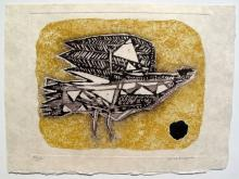 Max Papart Oiseau Hand Signed Limited Edition Etching