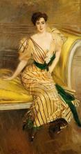 Giovanni Boldini - Portrait Of Madame Josephina Alvear De Errazuriz