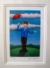 Paul Horton Chester The Tramp Hand Signed Limited Edition Giclee