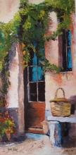 James Pratt Tuscan Doorway Hand Signed Limited Edition Giclee On Canvas
