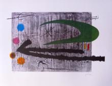 Joan Miro Toward The Left Facsimile Signed Limited Edition Lithograph