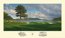 Linda Hartough - 18th Hole, Pebble Beach Golf Links