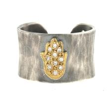 Silver-14KT Ring Hand