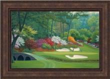 Charles White - Framed Giclee Canvas 12 Hole At Augusta National