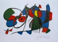 Joan Miro Volume Ii, Litho Viii Facsimile Signed Limited Edition Lithograph