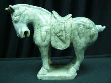 Jade Saddled Tang Horse