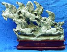 Large Jade Horses Mountain