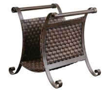 Brunella Dark Mocha Magazine Holder