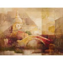 Abstract Bridge Gallery Wrap