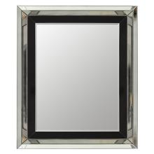 Black Inset Mirror