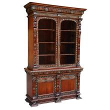Heavy Carved Bookcase