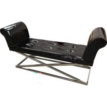 Bench - Black & Chrome
