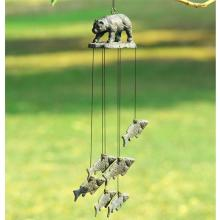 Bear and Fish Wind Chime