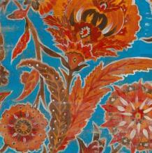 Original-Liz Jardine-Floral Pattern