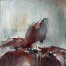 Original-Terri Burris-Bloom in the Mist