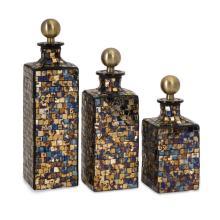 Moulin Mosaic Bottles - Set of 3