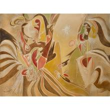 Abstract Gallery Wrap