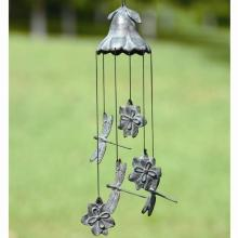 Magnolia and Dragonfly Wind Chime