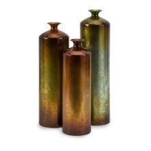 Tangerine Bottles - Set of 3