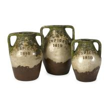 Guerrero Terracotta Jars - Set of 3