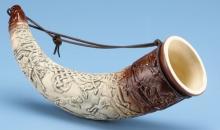 The Horn Of Cuchulainn W/ Strap